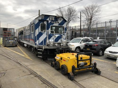 Power Pusher Rail Mover Moving Rail Car 2