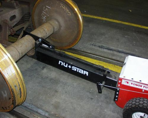 Power Pusher Rail Attachment